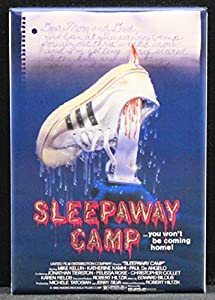Sleepaway Camp Movie Poster - Refrigerator Magnet.