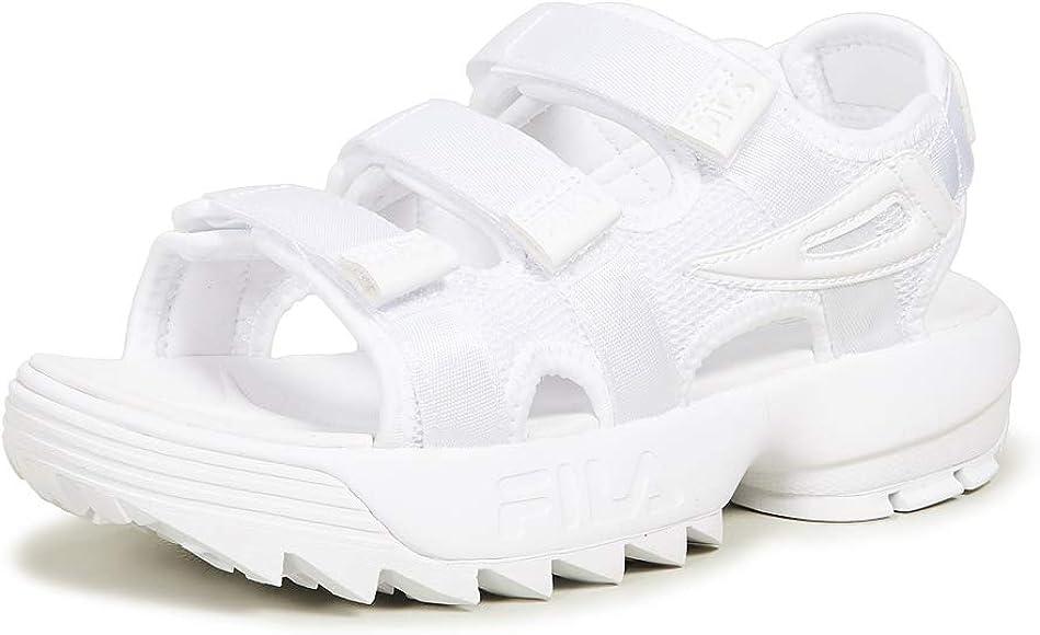 Fila Women's Disruptor Sandals, White