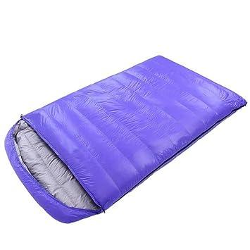 WTDlove Saco de Dormir Dos Personas Almuerzo Interior al Aire Libre Adultos Romper portátil Invierno 1800 g: Amazon.es: Jardín