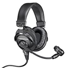 Audio-Technica BPHS1-XF4 Communications Headset with Cardioid Dynamic Boom Microphone