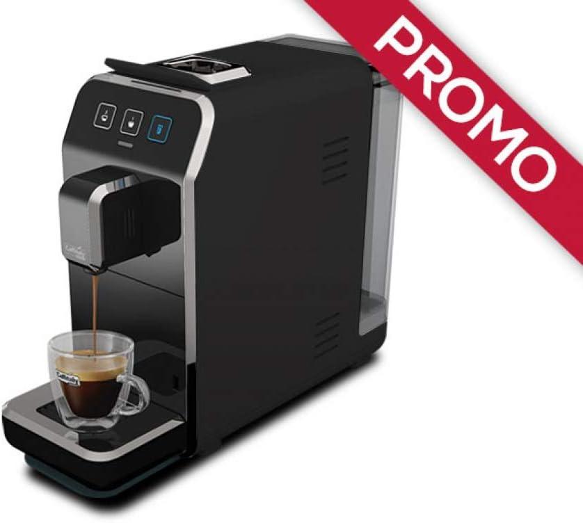 Máquina de café Caffitaly Luna S32 negra + 50 °Cápsulas regalo ...
