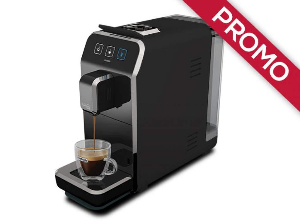 Máquina de café Caffitaly Luna S32 negra + 50 °Cápsulas ...