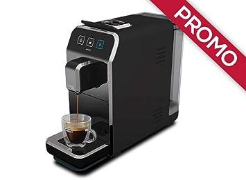 Máquina de café Caffitaly Luna S32 negra + 50 °Cápsulas regalo variados