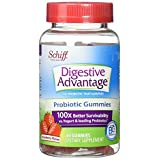 Digestive Advantage Strawberry Daily Probiotic Gummies, 60 count