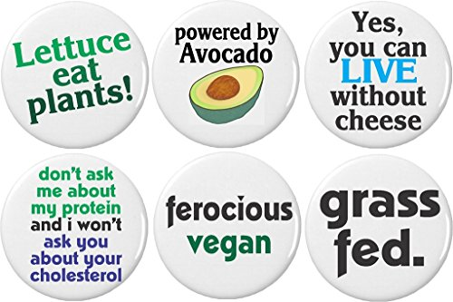 Funny Vegan Fridge Magnets