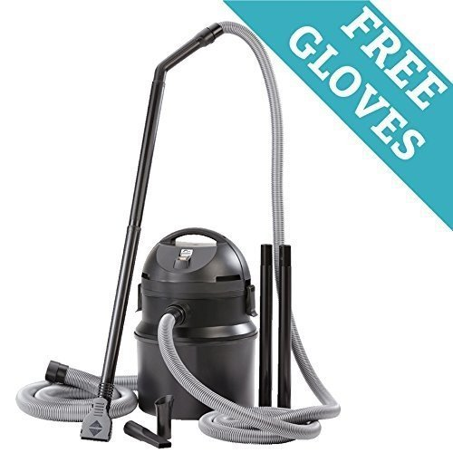 Professional 1400 Watt Premium Pond & Muck Vacuum Cleaner w/Free Pond Cleaning Gloves by PondLeader
