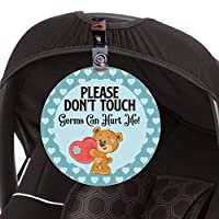 don't touch baby tag