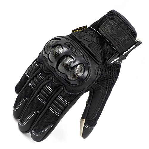 Hot Weather Motorcycle Gloves - 7