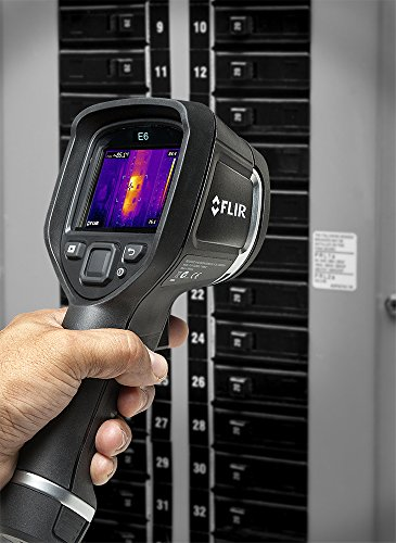 FLIR E6: Compact Thermal Imaging Camera with 160 x 120 IR Resolution, MSX and Wi-Fi