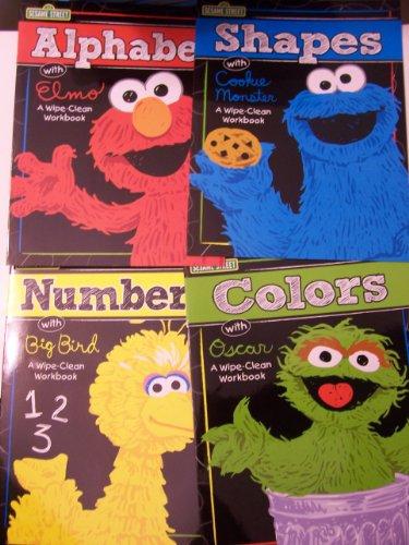 Sesame Street Educational Workbook Workbooks