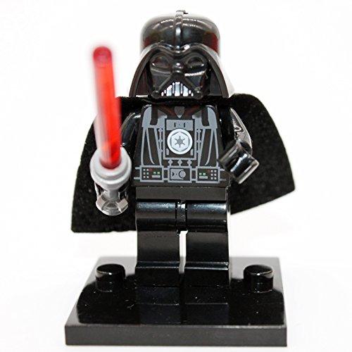 GRA Toys Darth Vader Minifigure With Lightsaber Building Blocks Sets Models Bricks Mini Figures Kid Gift (Seal Bag)