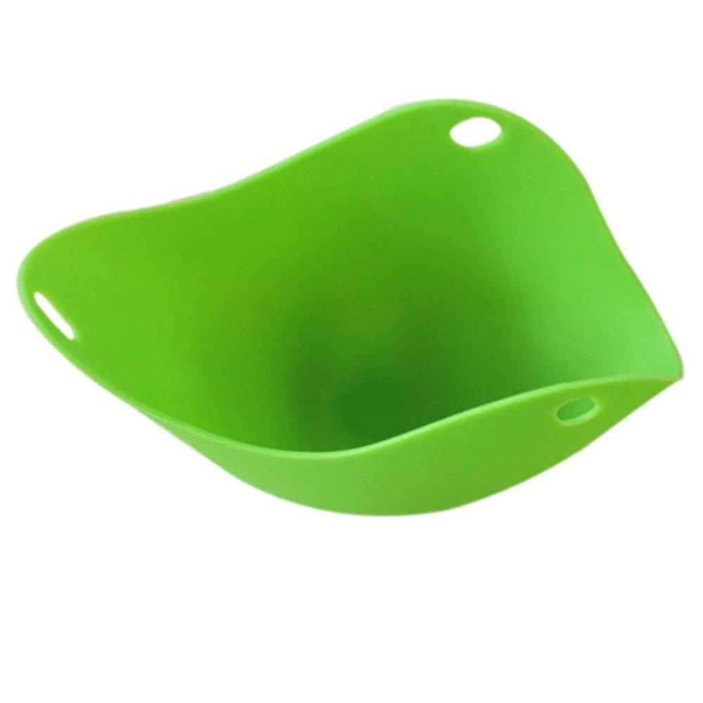 Bluelans® Poachpod Egg Poacher Pack of 2, Silicone Egg Poacher Pods for Cooking, Random Colour