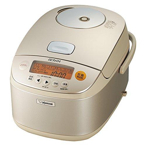 Zojirushi IH pressure Rice cooker Iron coat platinum Atsukama 1 bushel champagne gold NP-BE18-NZ (Best Rice Cooker Nz)