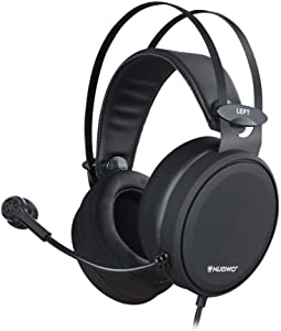 NUBWO Gaming headsets PS4 N7 Stereo Xbox one Headset Wired PC Gaming Headphones with Noise Canceling Mic , Over Ear Gaming Headphones for PC/MAC/PS4/Xbox one
