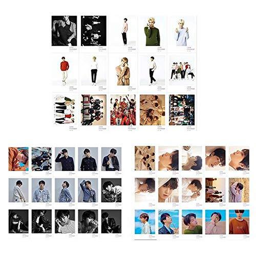 Saitrewed Kpop Bts 防弾少年団 BTS Fake Love フォトはがきサポート Lomoカード LOVE YOURSELF ロモカード バンタン グッズ 限定 グッズ 45pcs /セット ステッカーセット ギフト for a.r.m.y