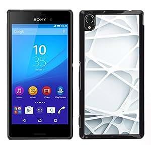 EJOY---Cubierta de la caja de protección para la piel dura ** Sony Xperia M4 Aqua ** --Ingeniería líneas limpias minimalista