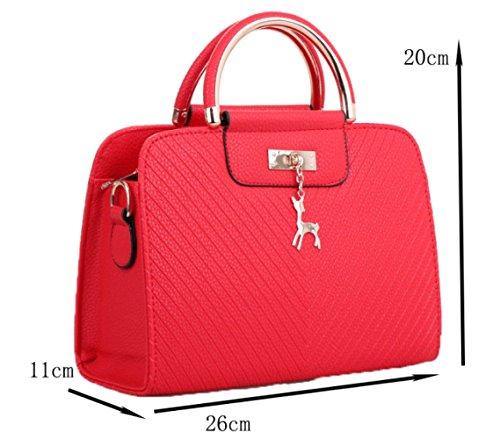 bandoulière de femme et sac avec Sac légère magasinage main 4 pour à Zm vYBZqx