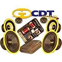 Es-643 Gold - CDT Audio 6.5 / 4 3 Way Gold Series Component System