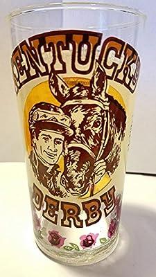 Kentucky Derby Official 1977 Derby Glass -- Churchill Downs