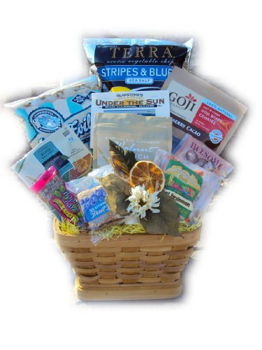 Good for You! Healthy Congratulatory Gift Basket