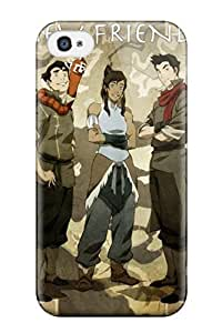 New Style AnnDavidson Hard Case Cover For Iphone 4/4s- Avatar The Legend Of Korra