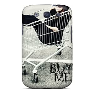 Wade-cases Fashion Protective Buy Me Case Cover For Galaxy S3 by lolosakes
