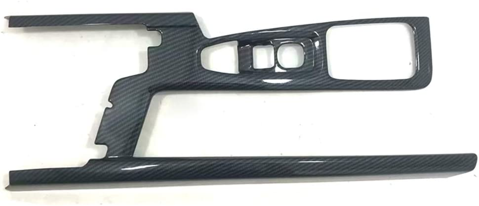 YUZHONGTIAN Only for Left Head Drive Car Accessories ABS Matt Gear Shift Panel Frame Cover Trim for Volvo S90, V90 2017-2019
