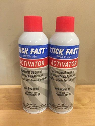 Stick Fast Aerosol Activator 7.5oz (Pack of 2)