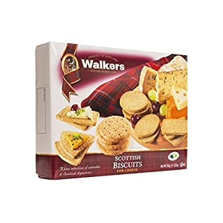 Walkers Shortbread Scottish Biscuits for Cheese Crackers, 8.8 Ounce Box