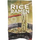 Lotus Foods Ramen - Organic - Jade Pearl Rice - with Miso Soup - 2.8 oz - case of 10 - 70%+ Organic - Gluten Free - Dairy Free - Yeast Free - Wheat Free-Vegan