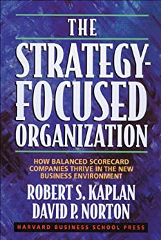 The Strategy-Focused Organization: How Balanced Scorecard Companies Thrive in the New Business Environment by [Kaplan, Robert S., Norton, David P.]