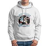 Tiny Toon Adventures Buster Babs Men's Cool Hooded Sweatshirt Pullover