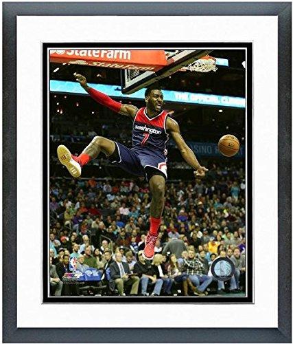 ジョン壁Washington Wizards Nbaアクション写真(サイズ: 12.5 CM x 15.5 CM )フレーム   B01BQWUK3C