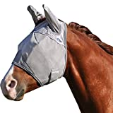 Cashel Crusader Horse Fly Mask, Standard with Ears,...