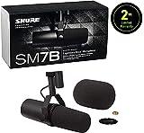Shure Dynamic Microphone, XLR Connector, Black