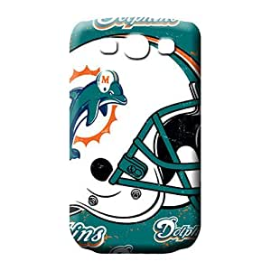 samsung galaxy s3 mobile phone carrying shells Back Appearance stylish miami dolphins nfl football