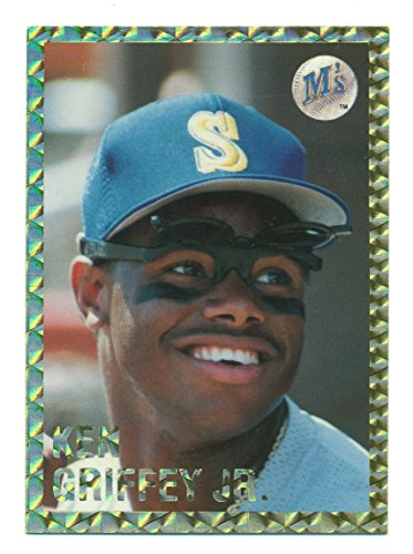 (1991 Playball Ken Griffey Jr. Promo Card Gold Border Very Rare Seattle Mariners)