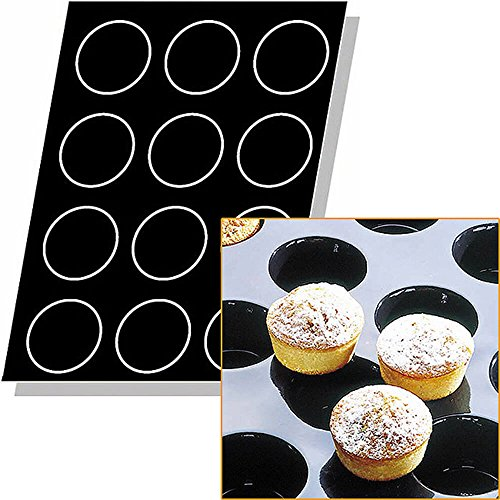 Flexipan 336342 Muffins Nonstick Sheet Mold by Matfer Bourgeat