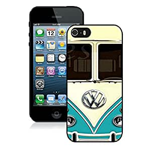 iPhone 5 5S Case ,Unique And Fashionable Designed Case With Volkswagen Vw Black For iPhone 5 5S Phone Case
