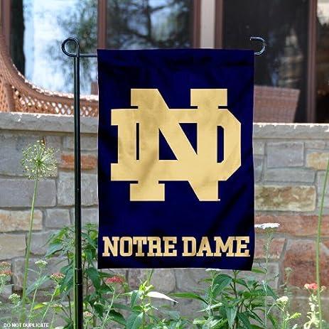 Superbe Notre Dame Garden Flag And Yard Banner