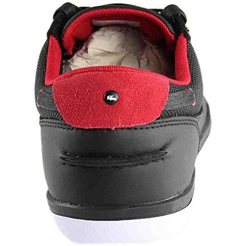 Lacoste Heren Dek-minimal-317 Sneakers Schoenen Zwart / Rood