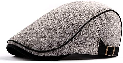 野球帽 キャスケット メンズ ハット ゴルフ ポリエステル 綿 調整可能 ソフト 鳥打帽 55-60cm LWQJP (Color : 1, Size : Free size)