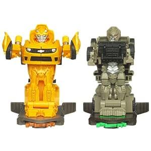 Amazon.com: Transformers Dark of the Moon Robo Power Bash ... Transformers 3 Bumblebee Vs Megatron