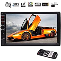 EinCar Car Stereo MP5 System Auto Video Audio Radio In Dash Head Unit support 5-touch Screen/ FM/Bluetooth/USB/SD/Steering Wheel Control Multimedia Car Deck NO dvd Player