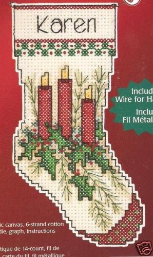 - Holiday Candle Cross Stitch Wizzer Kit
