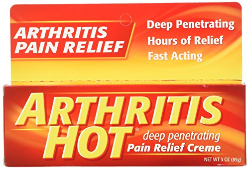 Arthritis Hot Pain Relief Creme 3 oz - (Pack of 6) Hot Creme