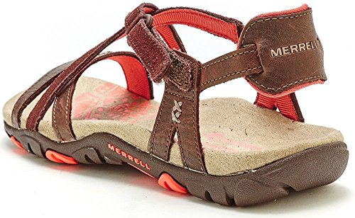 ad0402b2754e Merrell Sandspur Rose Leather Women Sandals in Brown J289634C  UK 5 EU 38    Amazon.co.uk  Shoes   Bags