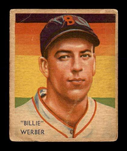 (1934 Diamond Stars #61 Bill Werber G/VG X1695581)