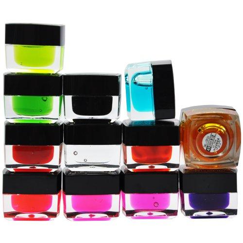 Beauties Factory 12 Transparent Clear UV Colour Gel Polish N