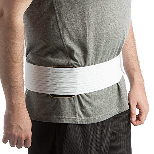 Promagnet Large Lumbar Pad with body wrap 25 Magnets (magnets range up to 12,300 gauss ea) Made in USA